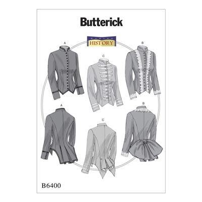 Historische Jacke, Butterick 6400 | 40 - 48
