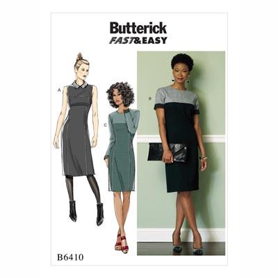 Kleid, Butterick 6410 | 32 - 40