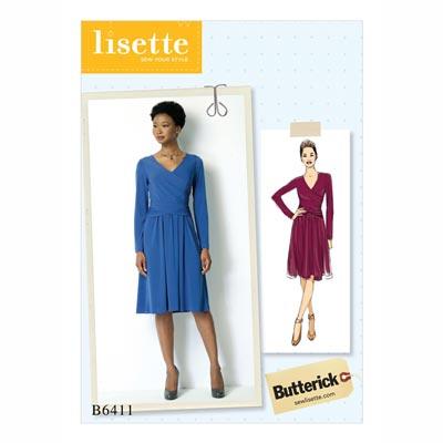 Kleid, Butterick 6411 | 40 - 48