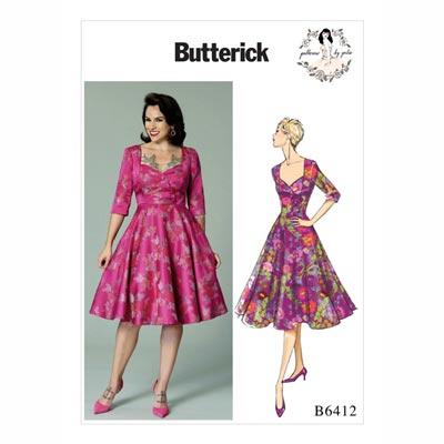 Kleid, Butterick 6412 | 32 - 40