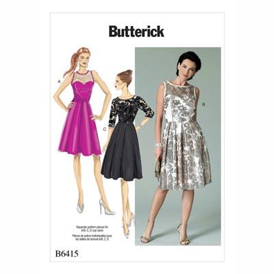 Kleid, Butterick 6415 | 40 - 48