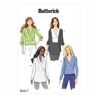 Tops, Butterick 6417 | 32 - 40