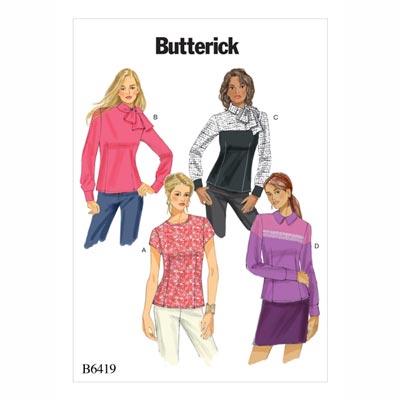 Tops, Butterick 6419 | 32 - 40