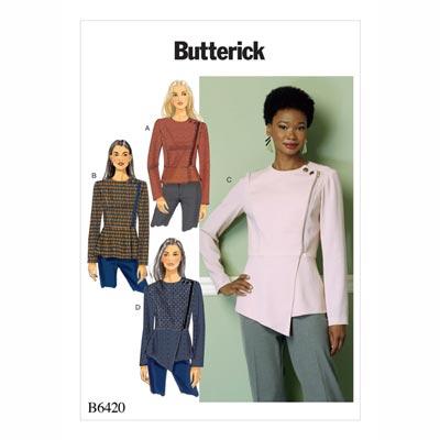 Jacke, Butterick 6420 | 32 - 40