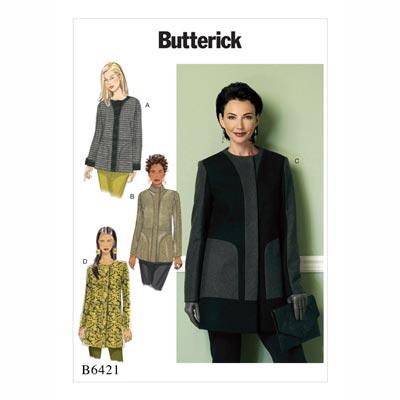 Jacke/Mantel, Butterick 6421 | 32 - 40