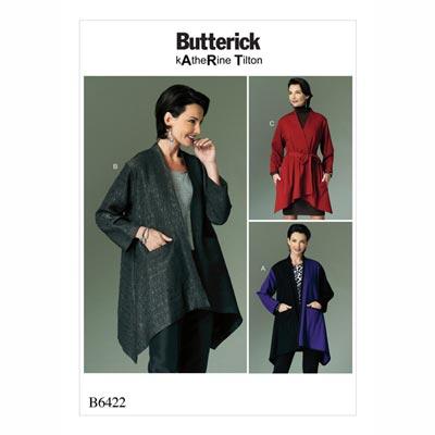 Jacke, Butterick 6422 | 32 - 40
