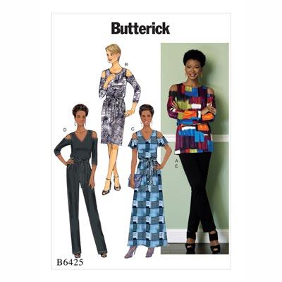 Top/Kleid/Jumpsuit, Butterick 6425 | 32 - 40