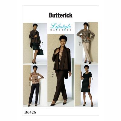 Jacke/Top/Tunika/Kleid, Butterick 6426 | 32 - 40