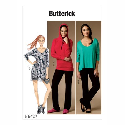 Pullover/Hose, Butterick 6427 | 32 - 40