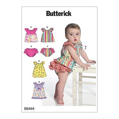 Babykleid/Höschen/Top, Butterick 6444 | 46 - 81