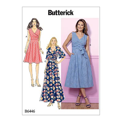 Kleid, Butterick 6446 | 32 - 40