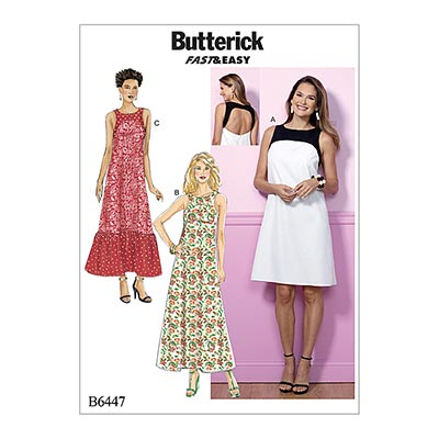 Kleid, Butterick 6447 | 32 - 40