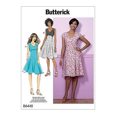 Kleid, Butterick 6448 | 32 - 40