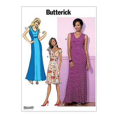 Kleid, Butterick 6449 | 42 - 50