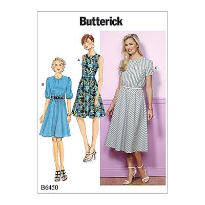 Kleid, Butterick 6450 | 32 - 40