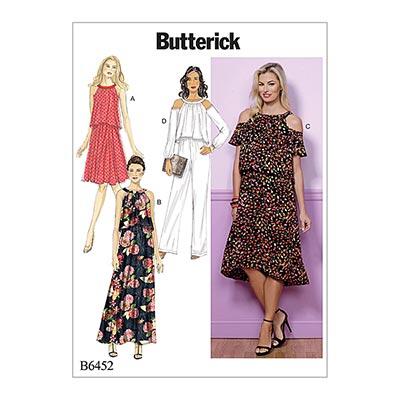 Kleid, Butterick 6452 | 40 - 48