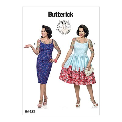 Kleid, Butterick 6453 | 40 - 48