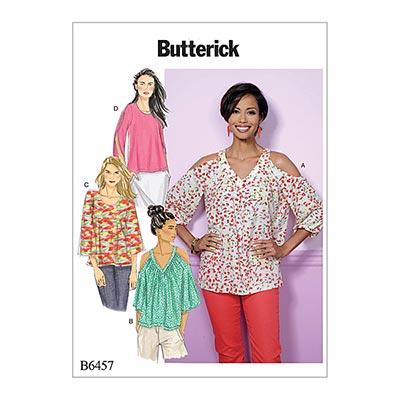 Top, Butterick 6457 | 32 - 40