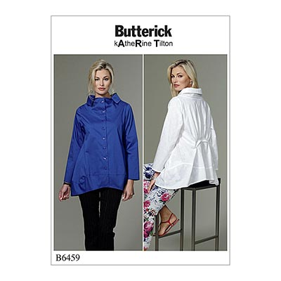 Top, Butterick 6459 | 34 - 42