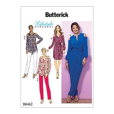 Top / Tunika / Jumpsuit, Butterick 6462 | 32 - 40