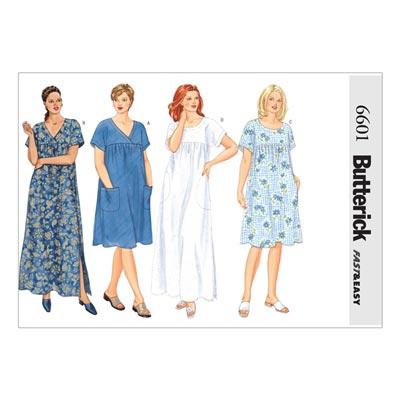 Kleid, Butterick 6601 | 54 - 58
