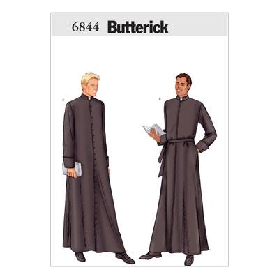 Robe, Butterick 6844 | 54 - 58