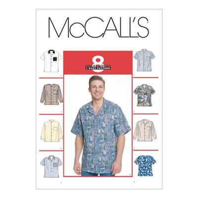 Herrenhemd, McCalls 2149 | 54-56