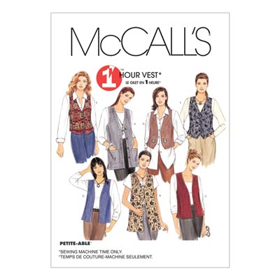 Weste, McCalls 2260 | 34-36