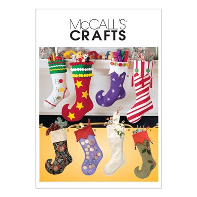 Weihnachtsstrumpf, McCalls 2991 | One Size