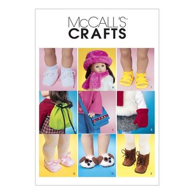 Puppenaccessoires, McCalls 3469 | One Size