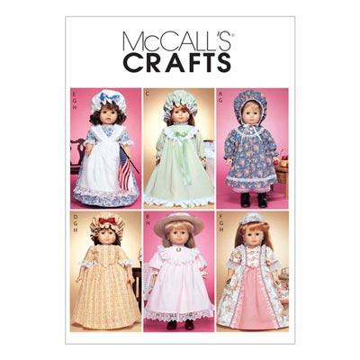 Puppenkleider, McCalls 3627 | One Size