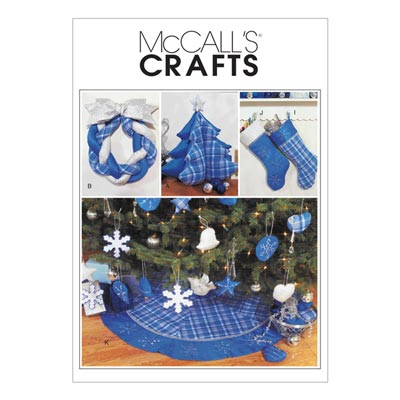 Weihnachtsdekoration, McCalls 3777 | One Size