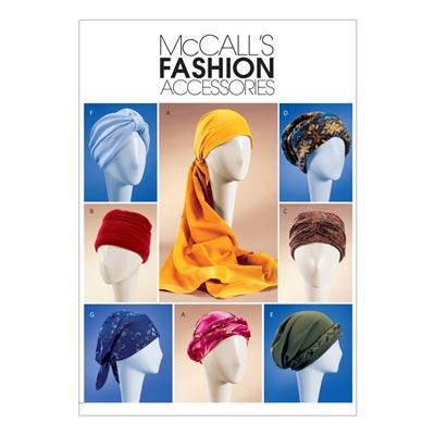 Kopfbedeckung, McCalls 4116 | One Size