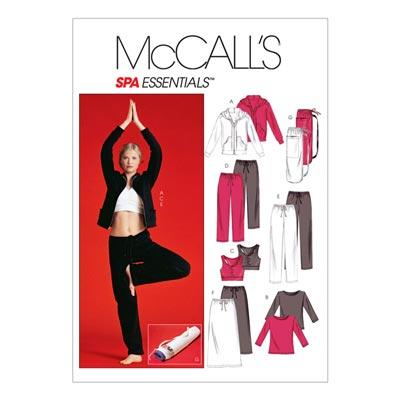 Sportoutfit, McCalls 4261 | 30-38
