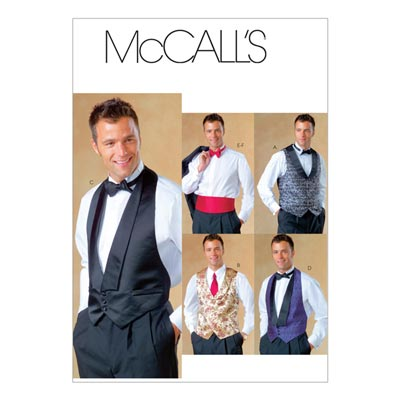 Herrenweste, McCalls 4321 | 34-44