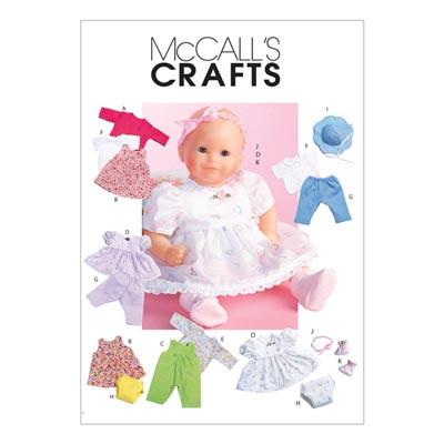 Puppenkleider, McCalls 4338 | One Size