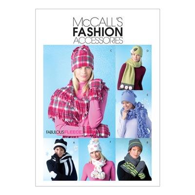 Schal/Mütze/Handschuhe, McCalls 4681 | One Size
