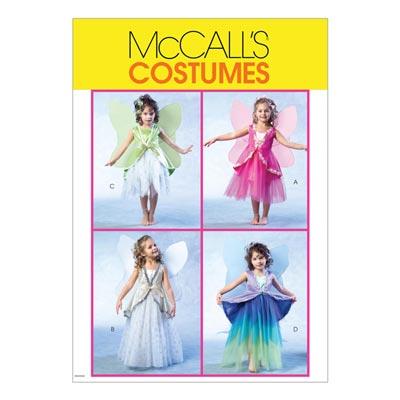 Feenkostüm, McCalls 4887 | 122-134