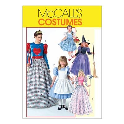 Märchen-Kostüme für Kinder, McCalls 4948 | 104-134