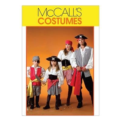 Piratenkostüme für Kinder, McCalls 4952 | 104 - 134