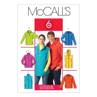 Weste/Jacke, McCalls 5252 | 34-44