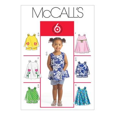 Kleid/Shorts, McCalls 5416 | Baby