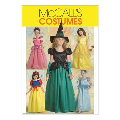Kostüm Prinzessin / Fee für Kinder, McCalls 5494 | 104-122
