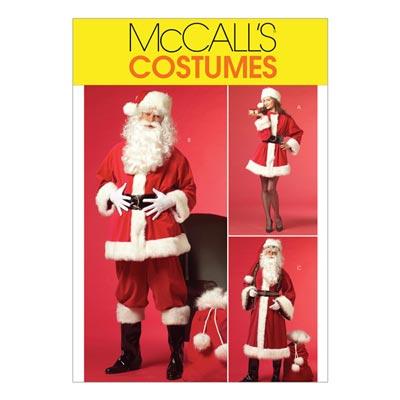 Nikolauskostüm, McCalls 5550 | 46-56