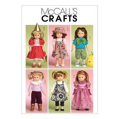 Puppenkleider, McCalls 5554 | One Size