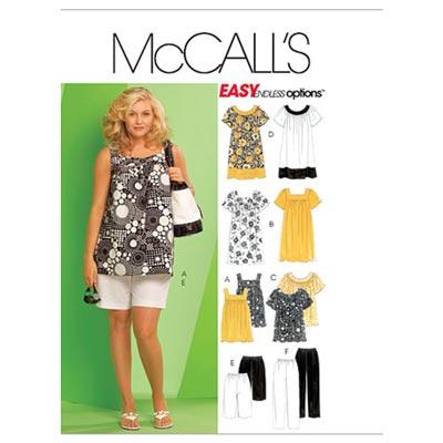 Kleid/Shorts/Top, McCalls 5640 | 52-58