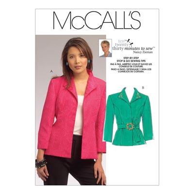 Jacke, McCalls 5668 | 34-46