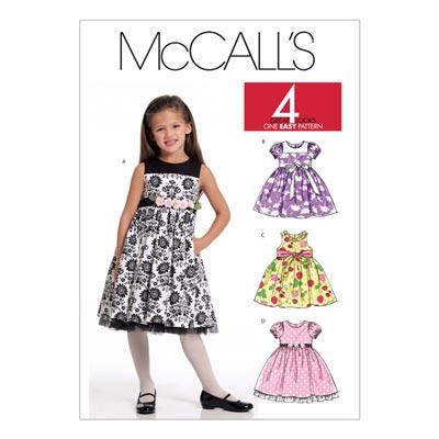 Kleid, McCalls 5793 | 122-134