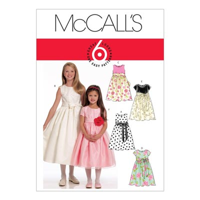 Kinderkleid, McCalls 5795 | 104-122