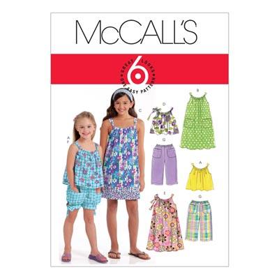 Kleid/Hose/Top, McCalls 5797 | 128-152